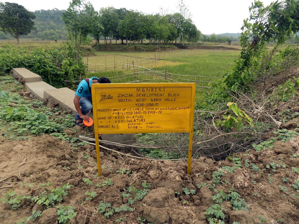MGNREGA Implementation in South West Garo Hills District-1