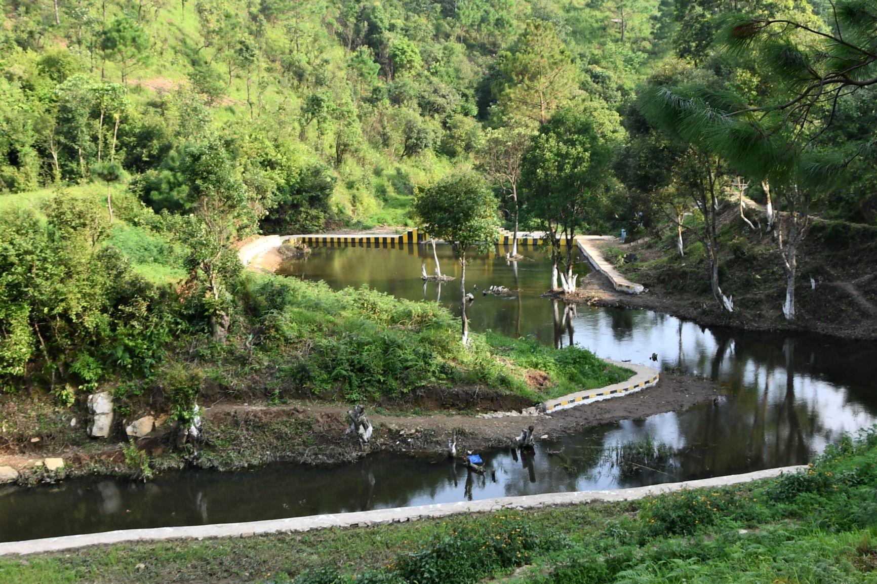 Construction of Check Dam at Mawryngkneng VEC Mawryngkneng C&RD Block East Khasi Hills District