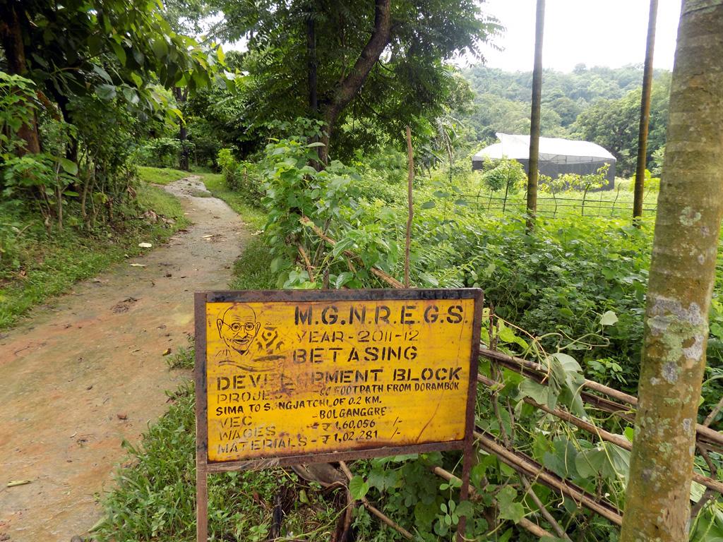 MGNREGA Implementation in South West Garo Hills District-3