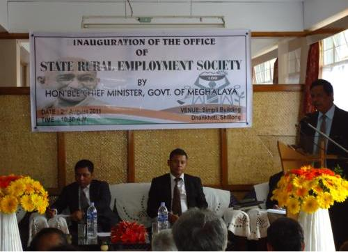 Inauguration of State Rural Employment Society 10