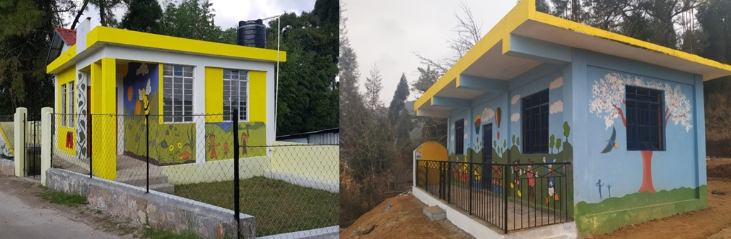 Construction of RCC Anganwadi Centres in Mylliem and Mawphlang C&RD Blocks East Khasi Hills District