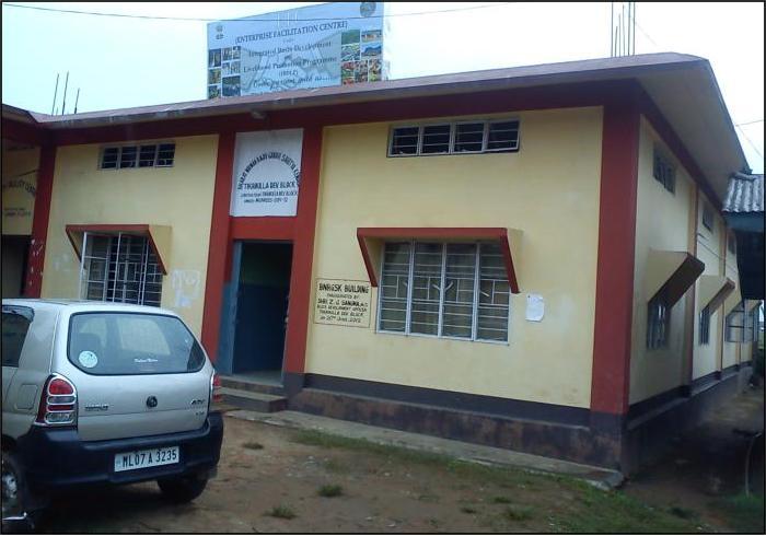 BNRGSK Building in Tikrikilla CnRD Block