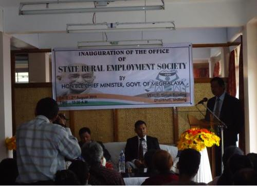 Inauguration of State Rural Employment Society 2