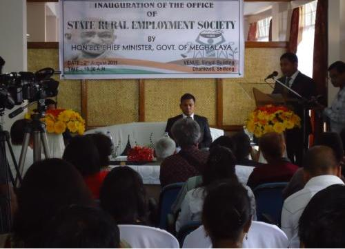 Inauguration of State Rural Employment Society 7