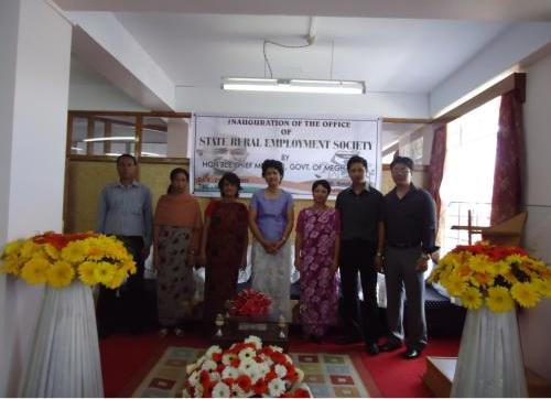 Inauguration of State Rural Employment Society 9